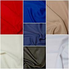 "Plain Scuba Bodycon Jersey Stretch Fabric Material - 160cm (63"") wide FREE P&P"