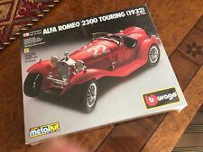 Vinatge Bburago 1932 Alfa Romeo 2300 Fahrendes Artikel #BUR07708