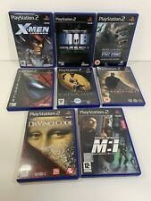 PS2 Bundle Job Lot Movie Games x8 Catwoman Batman Men In Black Da Vinci Code