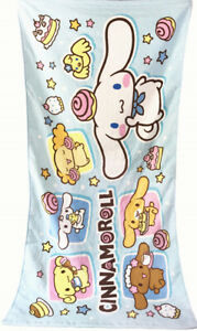 Cute New Japan Cinnamoroll white dog Towel  Beach Towel Cotton 70*120