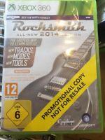 XBOX 360 Rocksmith 2014 Edition Promo Game (Full Promotional Game) Sealed PAL