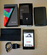 Google Nexus 7 Asus 1 Generación 32GB, WIFI, 3G, 7'' Tablet Android Con Extras