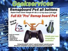 "Full Kit ""Pro"" Remap board Ps4 creer votre manette a palettes! Easy Remapper Ps4"