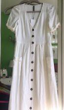 65f094b8b1 Zara Linen Dresses for Women with Buttons