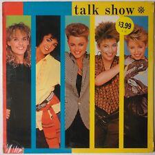 "GO GOs: Talk Show SEALED USA IRS Orig '84 New Wave ""Head Over Heels"" LP Rare"