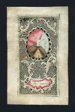 canivet pergamena miniatura 1700 S.GIOVANNI NEPOMUK