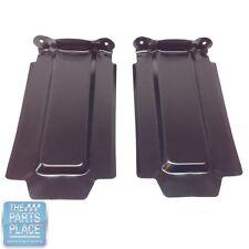 1965-65 GTO / LeMans Rear Bumper OE Metal Splash Shields - Pair