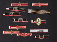 Ensemble Anciennes  Bague de Cigare BN100463 BAgues françaises