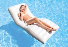 Schwimmliege Wave Lounge Wasserliege Badeinsel Luftmatratze Intex 193x102 56861