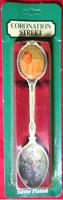 Coronation Street souvenir spoons ( jack & vera duckworin )