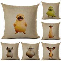 Animal Case Kids Throw Car Chair Pillow Cover Home Room Cushion Decor