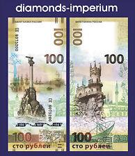 RUSSLAND - 100 RUBEL - KRIM- 2015(UNC)