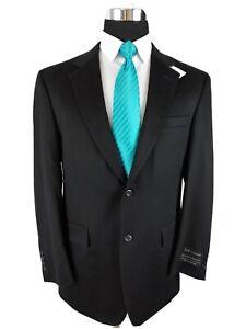 Jos A Bank Black 100% Pure Cashmere 2 Button Sport Coat Blazer Jacket Mens 40R