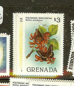 GRENADA (B1801) BUTTERFLY SC1093-6  MNH