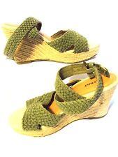 Sz 6M OLD NAVY Textile Woven High Heels/Shoes/Platform/Wedge NEAR MINT HOT DEAL