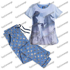 DISNEY Store PAJAMA PJ SET for Women BEAUTY and the BEAST Pick Size NWT