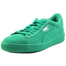 Scarpe verde in camoscio per bambini dai 2 ai 16 anni