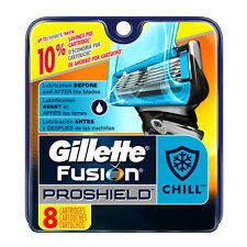 Gillette Fusion Proshield Chill 8-count Razor Blades