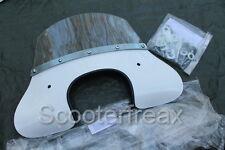 Vespa 50 Special Windschild NEU Cuppini Flyscreen Windabweiser Blech Roller