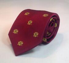 Scottish Rite 32nd Degree Woven Necktie - Maroon (32SR-NT-M)