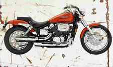 Honda Shadow Spirit750 2006 Aged Vintage SIGN A4 Retro