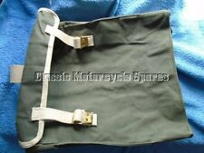WW2 Motorcycle Pannier Canvas Bag, BSA ,Norton, Matchless ,Ariel. Special Price