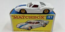 Matchbox  No. 41 Ford G.T. in Original 'F1' Box