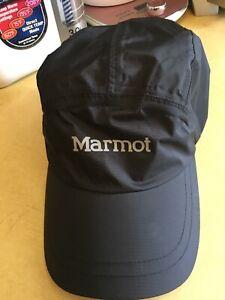 Marmot Precip Rain Waterproof Baseball Black Cap New Without Tags One Size Free