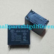 1pcs JQX-102F-P-12VDC New Genuine 4Pins Relay 12V HF102F-P-12VDC