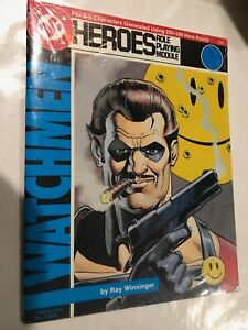 DC Heroes RPG Watchmen Taking out the trash Mayfair games 1987
