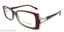 Authentic BVLGARI Brick Red Eyeglass RX Frame BV 4049B - 5210 *NEW*  51mm