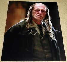 David Bradley Signed 11x14 Harry Potter Argus Filch Exact Proof