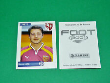 PANINI FOOT 2001 FRANCE FOOTBALL 2000-2001 LANG FC METZ LORRAINE ST-SYMPHORIEN