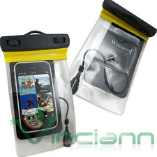 Custodia impermeabile armband+cuffie per Sony Xperia S LT26i mare spiaggia CI5