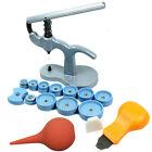 Snap on Watch Back Case Opener Fitting Tool kit - Press + Opener Knife + Blower