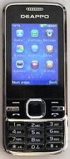 Tout nouveau téléphone mobile chinois marque deappo F1 Dual SIM coffret haute qualité