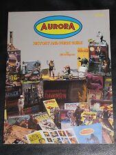 AURORA -HISTORY & PRICE GUIDE-BILL BRUEGMAN-SIGNED COPY