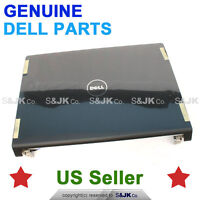 NEW Dell Studio 1535 1536 1537 Laptop LCD Back Cover Top w Hinges BLACK P613X