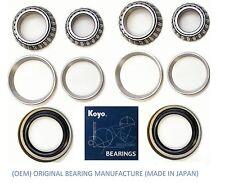 1975-1996 Ford F-150 F150 2WD Front Wheel KOYO Bearings & Seals Set (2WD)