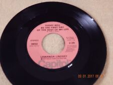 Lawanda Lindsey: Today Will Be The First Day Of The Rest Of My Life/ Capitol 45