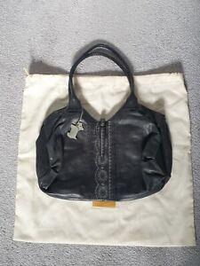 Radley Ladies Black Leather Handbag Shoulder Bag