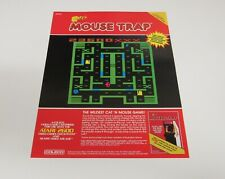 Coleco Colecovision 1982 Toy Fair Promo Sales Sheet Video Games Mouse Trap