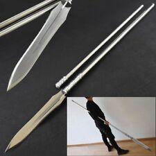 Soul Eater spear pike lance High manganese steel blade Sword Steel Handle #039