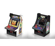 "MY ARCADE GALAGA + Dig Dug Bandai Namco 6"" Retro Micro Arcade Machine Video Game"
