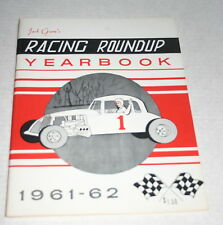 JACK GUNNS RACING ROUNDUP 1961-62 YEARBOOK MODS SPRINTS WILLIAMS GROVE LANGHORNE