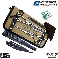 New Professional Hair Cutting Scissors Shear Barber Salon Hairdressing and pouch