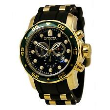 Invicta Men's Watch Pro Diver Scuba Chronograph Black MOP Dial Dive Strap 17883