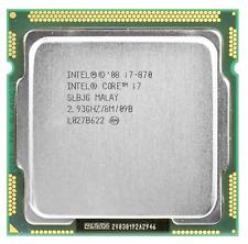 Intel Quad Core i7-870  SLBJG  2.93 GHz CPU Processor LARGE quantity 30+