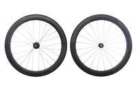 Generic Carbon Road Bike Wheelset 700c Tubular Campagnolo 11 Speed