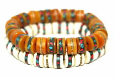 Tibetan prayer beads healing bracelet Adjustable wrist mala yoga bracelet E7